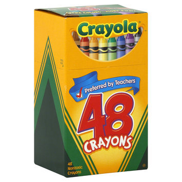 Crayola Crayons Assorted Colors 48 Count