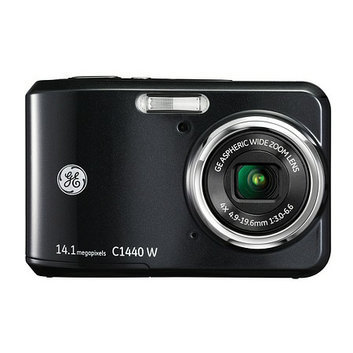 GE Smart Series C1440 14.1MP Digital Camera Black