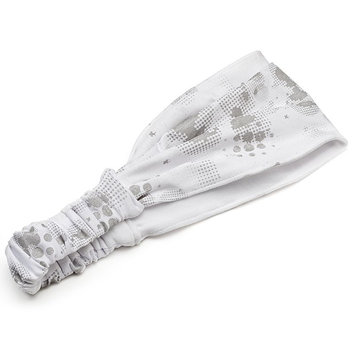 FILA Sport Reversible Bubble Headwrap (White)