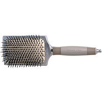 Olivia Garden Ceramic + Ion Anti-Static Cushioned Square Paddle Brush