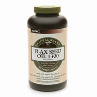 GNC Natural Brand Flax Seed Oil 1300