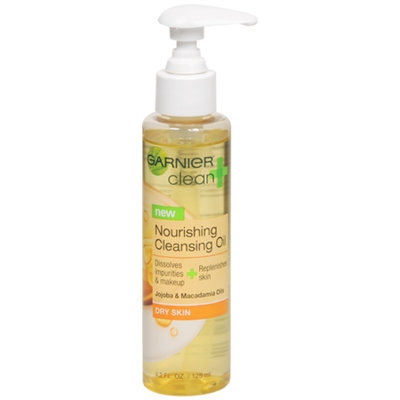 Garnier Clean + Nourishing Cleansing Oil For Dry Skin - 4.2 fl oz
