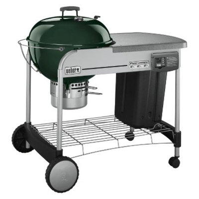 Weber Performer Platinum Charcoal Grill - Green