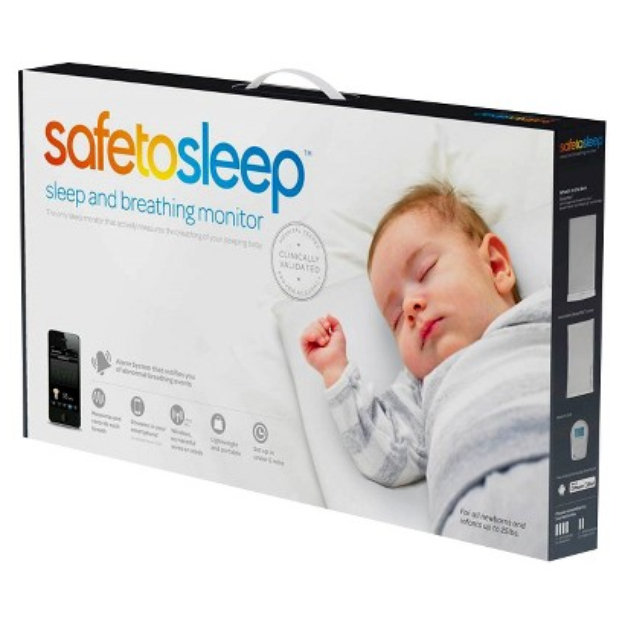 SafeToSleep Sleep and Breathing Baby Monitor