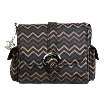 Kalencom Corporation Kalencom Midi Matte Mini Chevron Sahara Diaper Bag