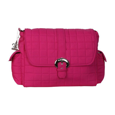 Kalencom Corporation Kalencom Quilted Nylon Buckle Diaper Bag (Pink)