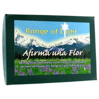 Flower Essence Services, Set of Range of Light Flower Cards Spanish 48 Cards