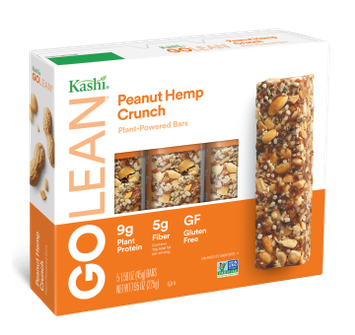 Kashi® GOLEAN® Peanut Hemp Crunch Plant-Powered Bars
