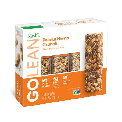 Kashi® GOLEAN® Peanut Hemp Crunch Plant-Powered Bars