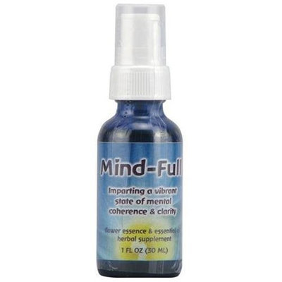 Flower Essence Services, Mind-Full Spray 1 oz