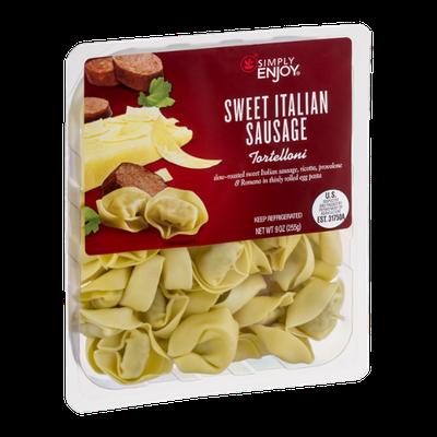 Simply Enjoy Sweet Italian Sausage Tortelloni