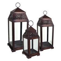 Kohls 3-piece Lantern Set (Brown)