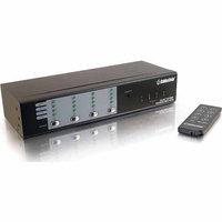 C2G TruLink 4 x 4 UXGA Video Matrix Switch with 3.5mm Audio