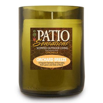 Patio Sensations Orchard Breeze Citronella 9-oz. Wine Jar Candle (Green)