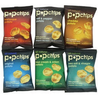 Popchips 6-Flavor Variety Count Single Serve Bags
