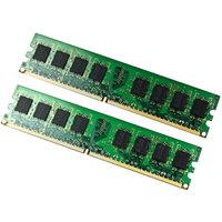 EP Memory 4GB (2 x 2GB) DDR2 800MHz PC2-6400 DIMM Memory Module Kit, EP800D2N6K2/4G