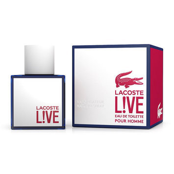 Fragrance Lacoste L!VE Eau de Toilette Spray - Men's (Live)