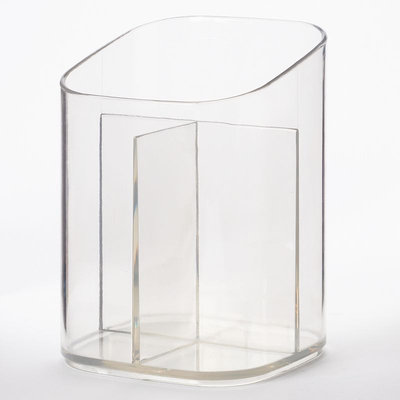InterDesign Clarity Cosmetic Cup (Clear)