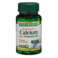 Nature's Bounty Absorbable Calcium Plus Vitamin D
