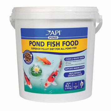 API Pond Fish Food: 4.2 lbs