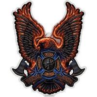 ERazorBits Apparel Volunteer Fire Eagle - Firefighter T-Shirt