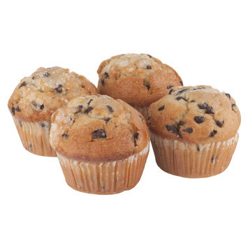 Ahold Chocolate Chip Muffins - 4 CT