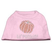 Mirage Pet Products 521303 XXXLLPK Lil Punkin Rhinestone Shirts Light Pink XXXL 20