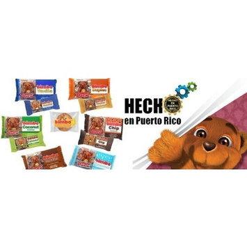 Dulzura Puertorriquena 5 Box of Bimbo Creme Sandwich Cookies (Mix)