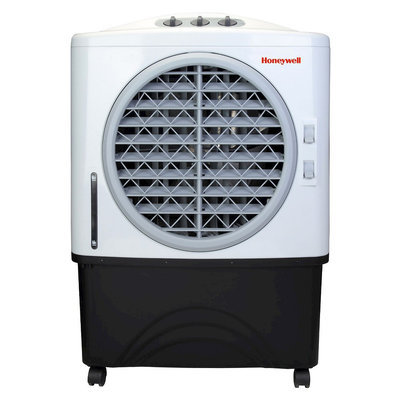 Honeywell CO48PM Indoor/Outdoor Evaporative Air Cooler - Black/White