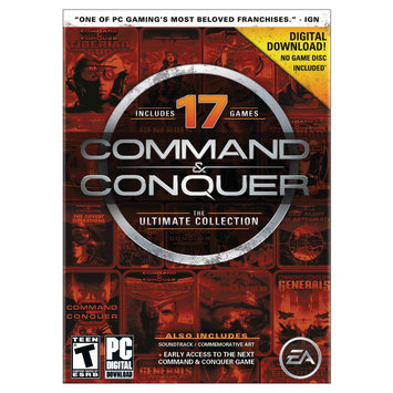 Electronic Arts Command and Conquer: The Ultimate Collection - Electronic Software Download (PC)