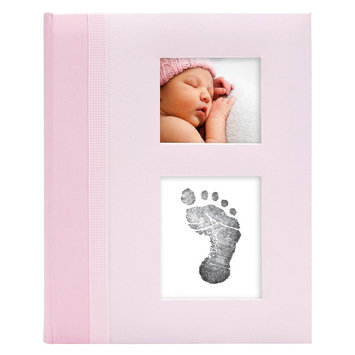 Pearhead Baby Memory Book - Pink