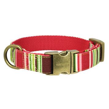 Waverly Fashion Canvas Dog Collar - MultiColor (Xsmall)
