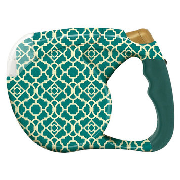 Waverly Retracable Pet Leash with Flashlight - Green