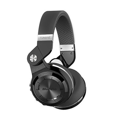 Bluedio T2s Turbine Bluetooth Wireless Stereo Headphones with Microphone 57mm Drivers Rotary Folding