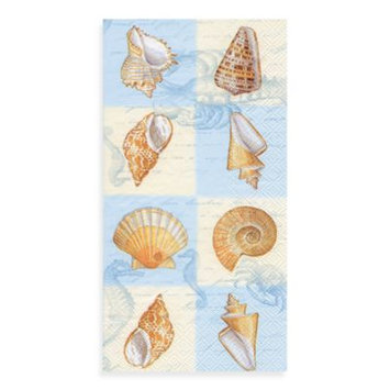 Paper Guest Towels in Sounds Of The Sea Blue