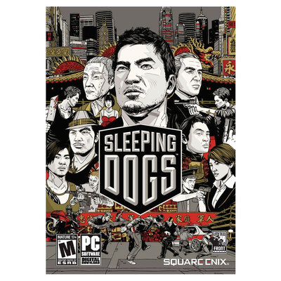 Square Enix Sleeping Dogs - Electronic Software Download (PC)