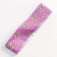 Fashion Angels Cat Reversible Headband - Girls (Purple/Leopard)