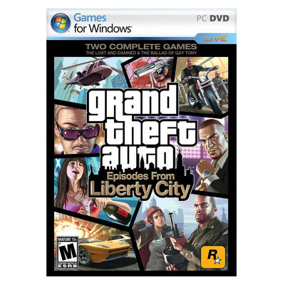 Rockstar Games Grand Theft Auto: Episodes from Liberty City - Electronic Software Download (PC)