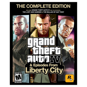 Rockstar Games Grand Theft Auto: IV and Episodes from Liberty City - Electronic Software Download (PC)