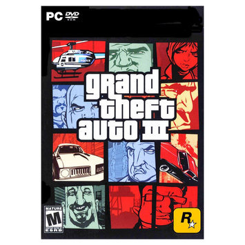 Rockstar Games Grand Theft Auto: III - Electronic Software Download (PC)