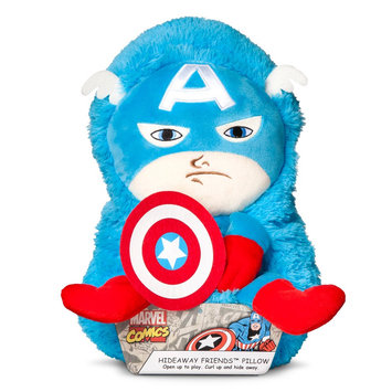 Jay At Play Marvel 14 Inch HideAway Pet - Captain America