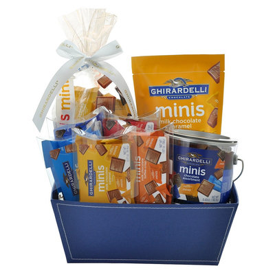 Ghirardelli Chocolate Big Basket of Minis