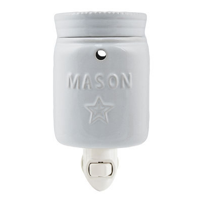 SONOMA Goods for Life™ Mason Jar Outlet Wax Warmer, White