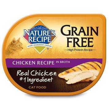Nature's Recipe Grain Free Chicken Recipe in Broth Wet Cat Food