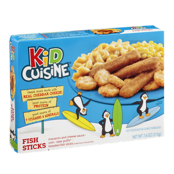 Kid Cuisine Fish Sticks Dinner