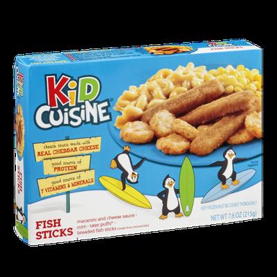 Kid Cuisine Fish Sticks Dinner