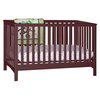 Stork Craft Hillcrest Fixed Side Convertible Crib - Cherry