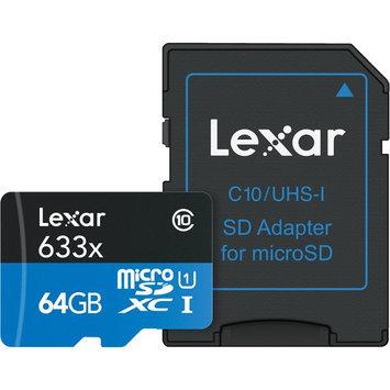 Crucial Technology 64GB Lexar 633x micro SHDC SDX