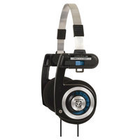 Koss PortaPro On-The-Ear Headphones with Case - Black (Srsportapro)