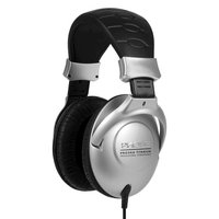 Koss PRO3AA Collapsible Closedear Over-the-Ear Headphones With Adjustable Headband - Black/Silver SRSPRO3AA
